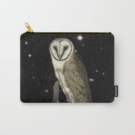 Owl in the Universe Carry-All Pouch