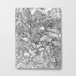 Wild Ideas Metal Print