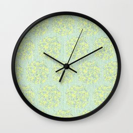 Sweetpea Wall Clock