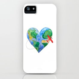 Love to Travel iPhone Case