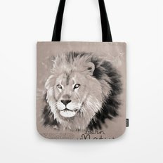 Lion (BornInNature) Tote Bag