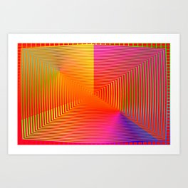 Optical deeps 2 Art Print