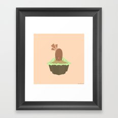 Diglett Framed Art Print