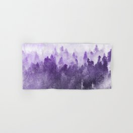 Ultra Violet Adventure Forest Hand & Bath Towel