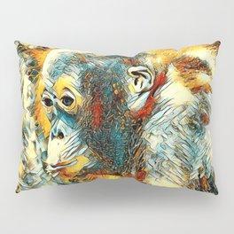 AnimalArt_OrangUtan_20180204_by_JAMColors Pillow Sham