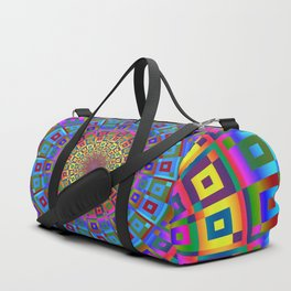 Square Dimensions Duffle Bag