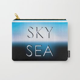 Sky and sea. Carry-All Pouch