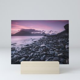 Sunset at Elgol Mini Art Print