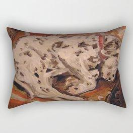 Fire Dog Rectangular Pillow