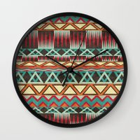 native Wall Clocks featuring Native. by Digi Treats 2