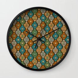 Pattern Kiln Wall Clock