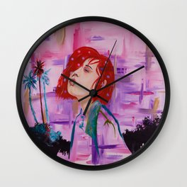 Cali Girl Wall Clock