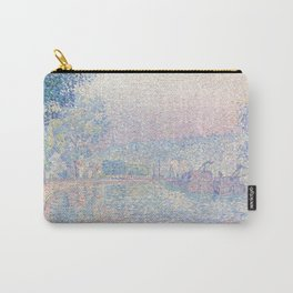 "Paul Signac ""Samois, La Berge, matin"" Carry-All Pouch"