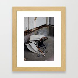 SHIP Framed Art Print