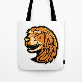 English Cocker Spaniel Mascot Tote Bag