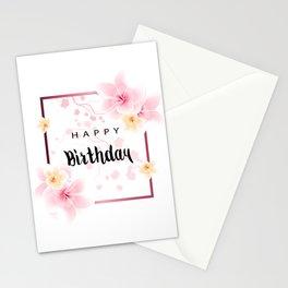Happy Birthday Card Stationery Cards