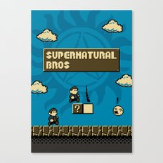 Supernatural Bros. Canvas Print