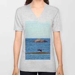 Time to Fly, Seal you Later Unisex V-Neck