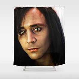 Adam - Only Lovers Left Alive XVI Shower Curtain