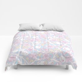 Apple Blossoms Comforters