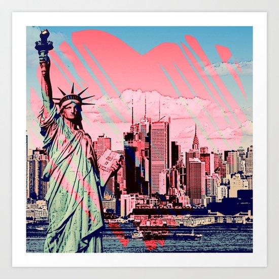 THIS CITY!  |  New York Love Art Print