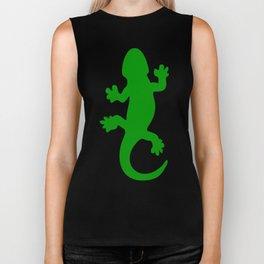 Green Lizard Biker Tank