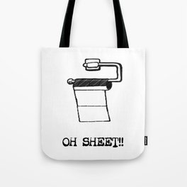 OH Sheet!! Tote Bag