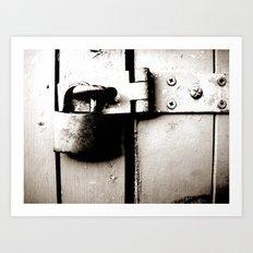 unlock me Art Print