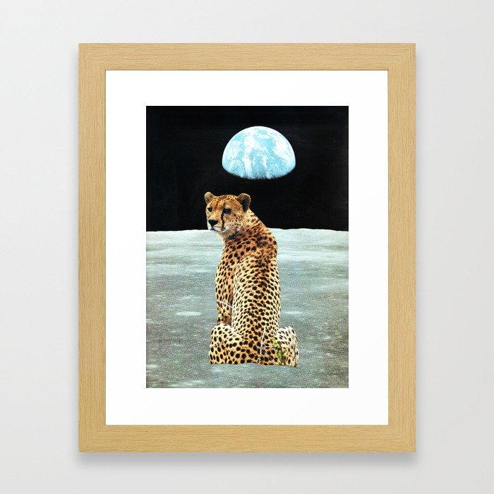 """Refugees II - memories of that planet"" Framed Art Print"