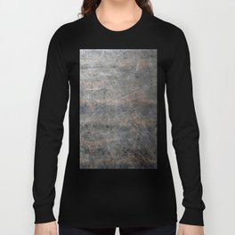 Scratched Suede Velvet Mouse - Navy Gradient Long Sleeve T-shirt