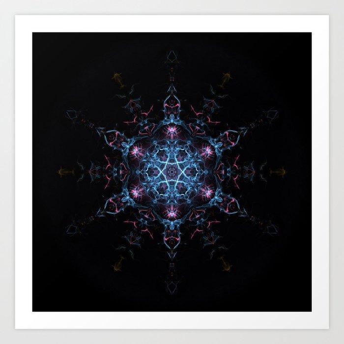 Beyond Reality Mandala Art Print By Ovidiuradubaciu Society6