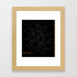 Cracking The Glass Ceiling Means 4 Years Of Bad Luck Framed Art Print
