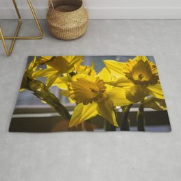 Daffodils from my floral photography collection Rug