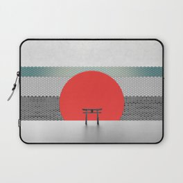 The Red Sun Laptop Sleeve