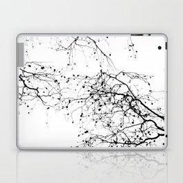BLACK BRANCHES 2 Laptop & iPad Skin