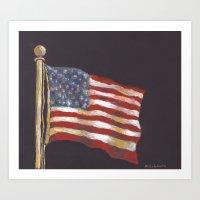 Stars & Stripes Art Print