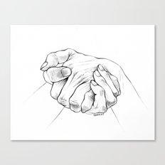 Untitled Hands No. 16 Canvas Print