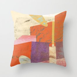 space tunnel #3 Throw Pillow