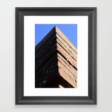 Brickwork Framed Art Print