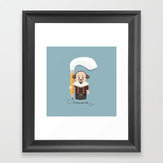 Little Will Framed Art Print