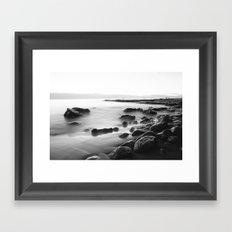 Whisper Rocks Framed Art Print