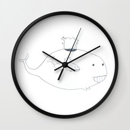 Baleineau Wall Clock