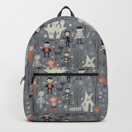 Love shack monsters halloween party Backpack