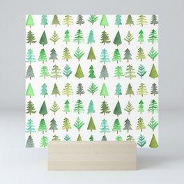 Tree Farm Mini Art Print