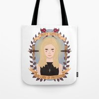 buffy Tote Bags featuring Buffy Summers by heymonster