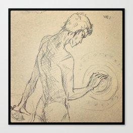 Vali, son of Loki Canvas Print