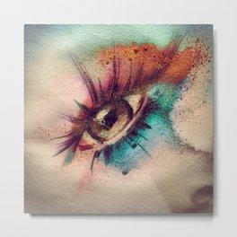 Eye Spillz Metal Print