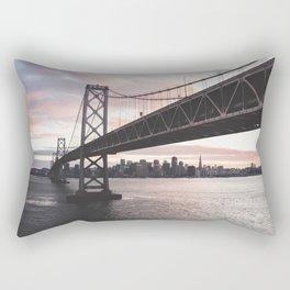 Bay Bridge - San Francisco, CA Rectangular Pillow