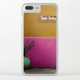 Tequila Tasting Clear iPhone Case