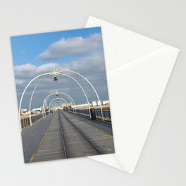 seaside view - historic southport pier Stationery Cards